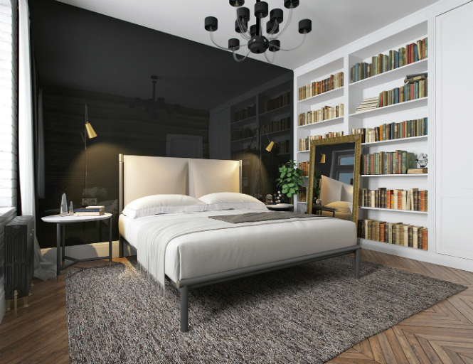 Contemporary Apartment in Kiev with Modern Black Lamps black lamps Contemporary Apartment in Kiev with Modern Black Lamps Contemporary Apartment in Kiev with Modern Black Lamps 9