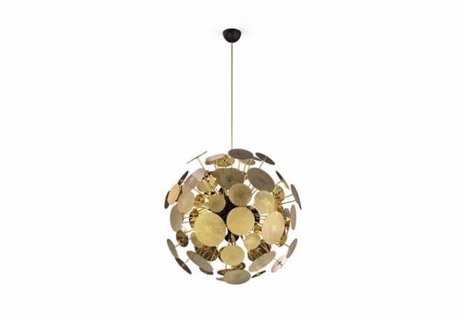 Fabulous Mid-Century Circular Ceiling Lights