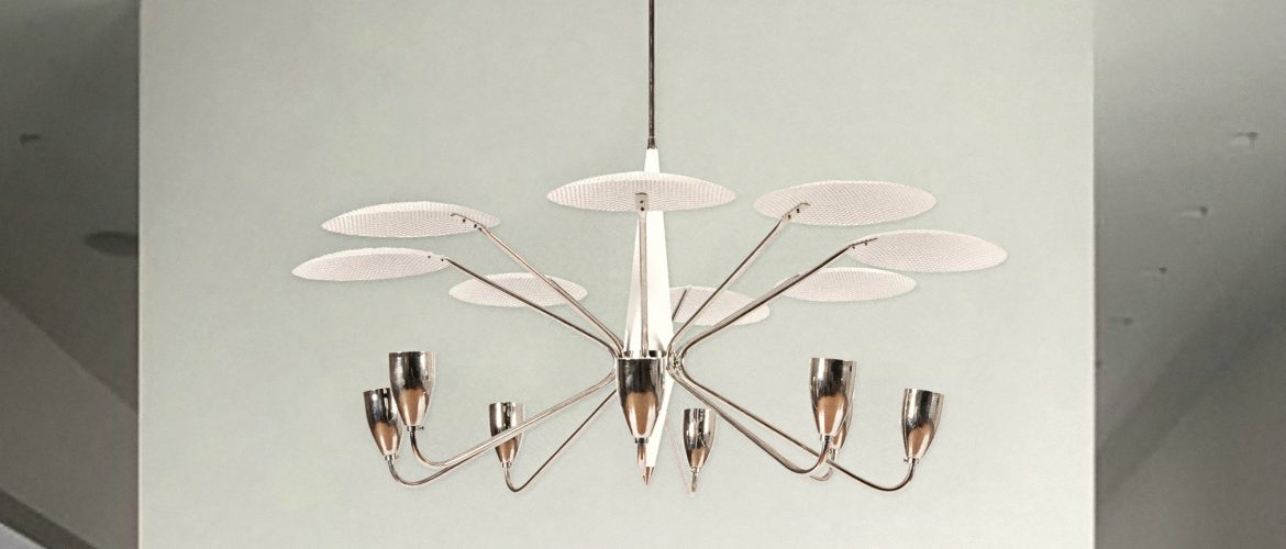 Fabulous Mid-Century Circular Ceiling Lights