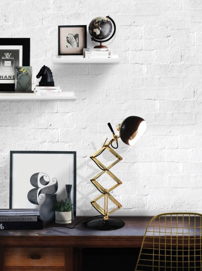 Scandinavian Interior Designs Using Table Lamps