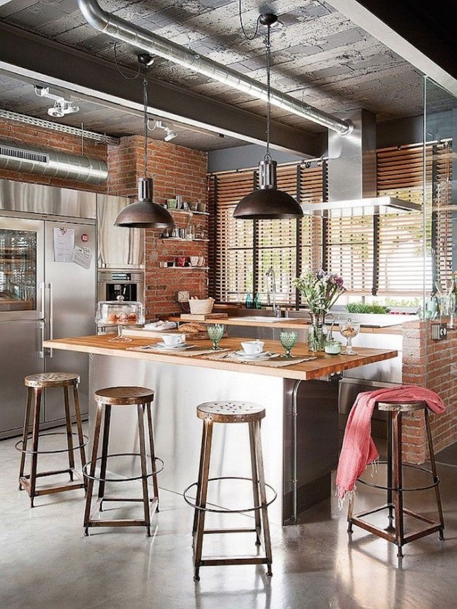 The Best Industrial Kitchen Lighting kitchen lighting The Best Industrial Kitchen Lighting The Best Industrial Kitchen Lighting 7