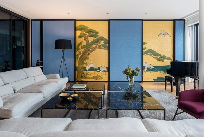 Beijing 350sqm Apartment with Classic Modern Floor Lamps modern floor lamps Beijing 350sqm Apartment with Classic Modern Floor Lamps Beijing 350sqm Apartment with Classic Modern Floor Lamps 3
