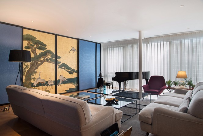 Beijing 350sqm Apartment with Classic Modern Floor Lamps modern floor lamps Beijing 350sqm Apartment with Classic Modern Floor Lamps Beijing 350sqm Apartment with Classic Modern Floor Lamps 6