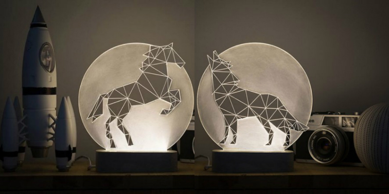 Geometric Lamp Designs to Light Your Winter Nights