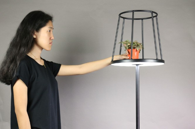 Minimalist Silhouette Modern Floor Lamp for Your Trendy Home