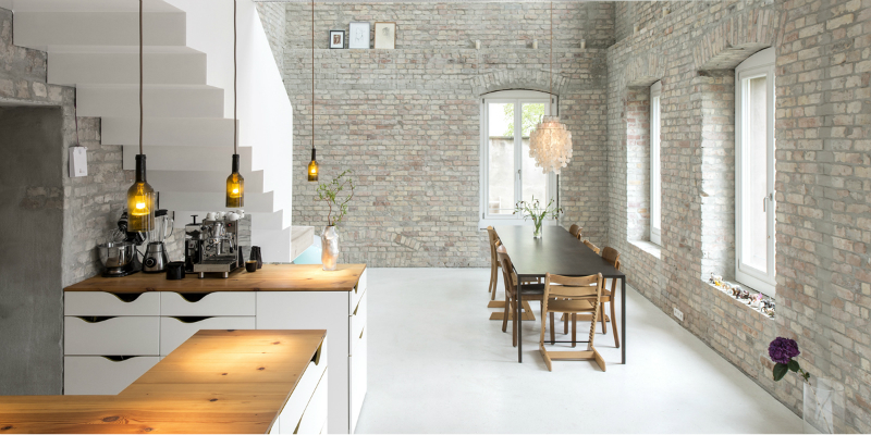 Old Miller's House is Transformed with Contemporary Lighting Designs