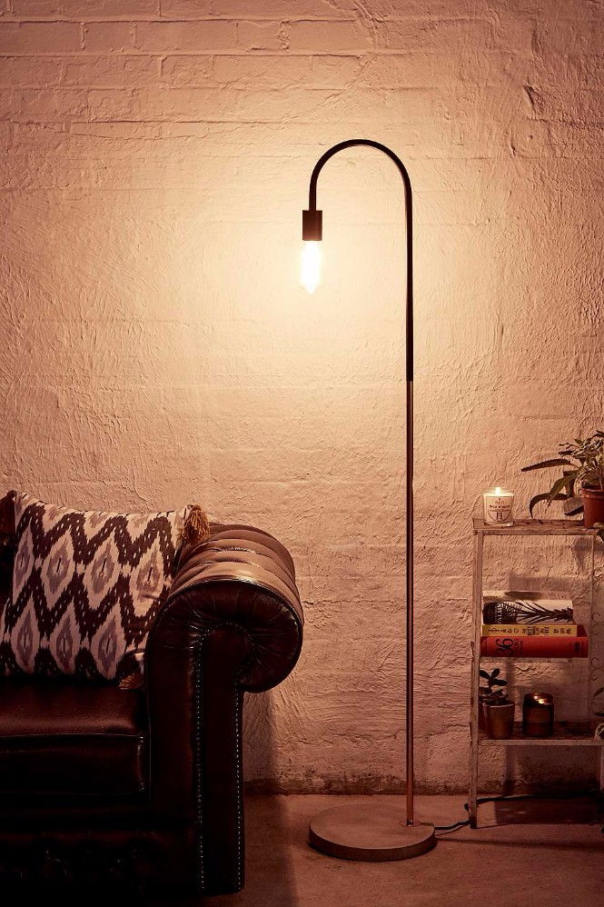 Shop for Modern Floor Lamps on a Budget