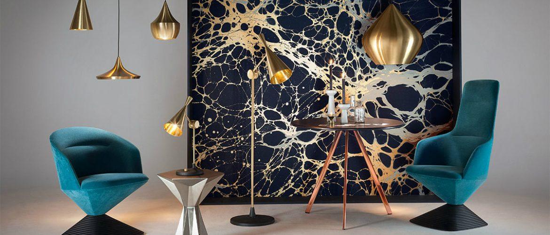Tom Dixon's Upscale Modern Floor Lamps