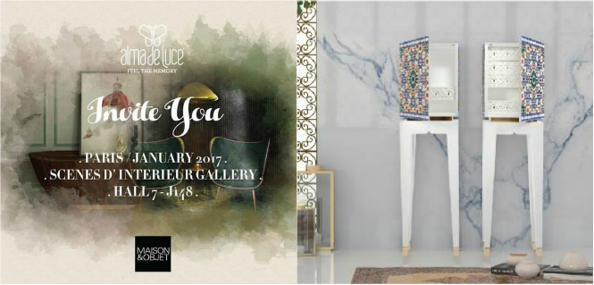 Top 10 Luxury Brands You Cannot Miss at Maison et Objet 2017 maison et objet 2017 Top 10 Luxury Brands You Cannot Miss at Maison et Objet 2017 Top 10 Luxury Brands You Have to See at Maison et Objet 2017 7