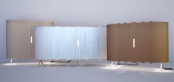 floor lamp Hybrid Furniture Piece Combines a Wardrobe and a Floor Lamp Hybrid Furniture Piece Combines a Wardrobe and a Floor Lamp 4