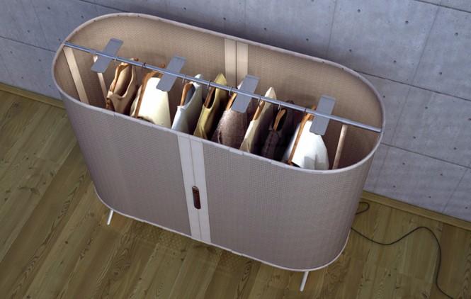 Hybrid Furniture Piece Combines a Wardrobe  floor lamp Hybrid Furniture Piece Combines a Wardrobe and a Floor Lamp Hybrid Furniture Piece Combines a Wardrobe and a Floor Lamp 5