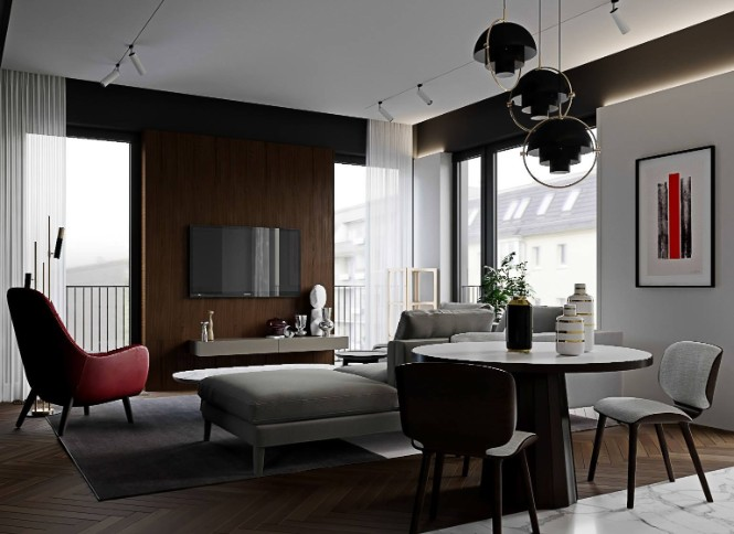 Luxurious Apartment Shining With DelightFULL Lighting Designs lighting designs Luxurious Apartment Shining With DelightFULL Lighting Designs Luxury Tag Residence in Almaty with DelightFULL Lighting Designs 10