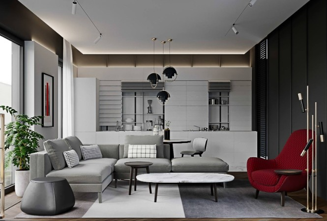 Luxurious Apartment Shining With DelightFULL Lighting Designs lighting designs Luxurious Apartment Shining With DelightFULL Lighting Designs Luxury Tag Residence in Almaty with DelightFULL Lighting Designs 9