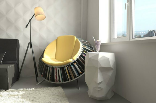 modern floor lamps Modern Floor Lamps to Brighten Your Reading Time Reading Chair
