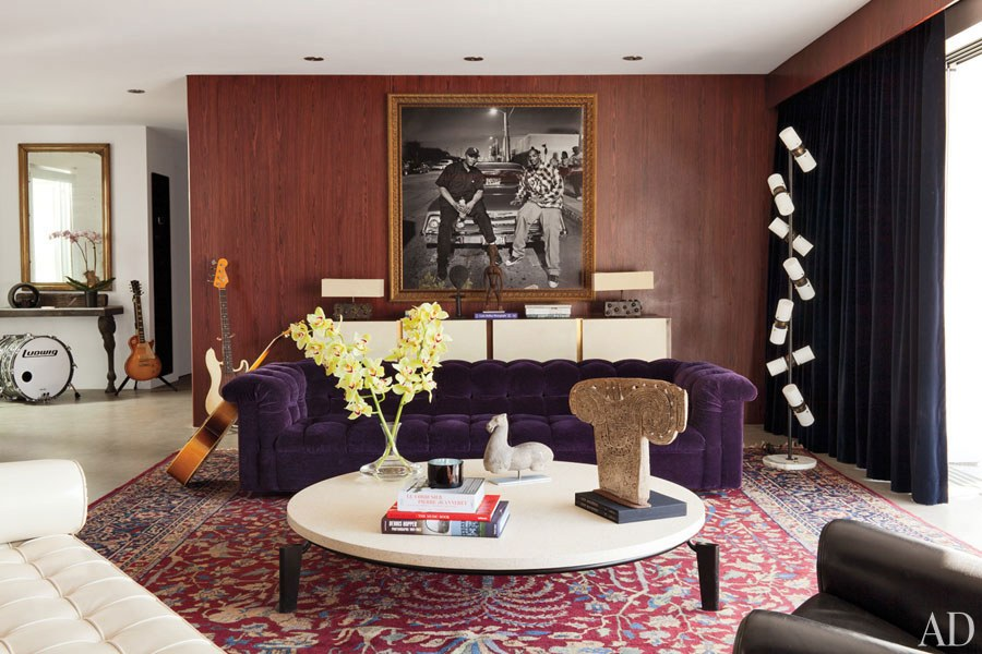 Adam Levine's Hollywood Hills Home with Mid-Century Floor Lamps 1 mid-century floor lamp Adam Levine's Hollywood Hills Home with Mid-Century Floor Lamps Adam Levines Hollywood Hills Home with Mid Century Floor Lamps 2