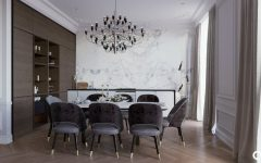 Luxurious Apartment with Stunning Lighting Designs & Modern Furniture FEAT