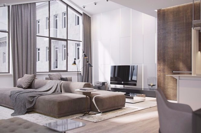 Modern Apartment Shining with Contemporary Lighting Designs in Italy (1) contemporary lighting Modern Apartment Shining with Contemporary Lighting Designs in Italy Modern Apartment Shining with Contemporary Lighting Designs in Italy 8