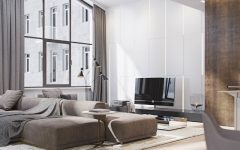 Modern Apartment Shining with Contemporary Lighting Designs in Italy FEAT
