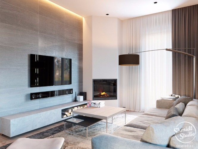 Modern Open Living Room with Stunning Lighting Designs in Minsk (2) lighting design Modern Open Plan Living Room with Stunning Lighting Designs in Minsk Modern Open Living Room with Stunning Lighting Designs in Minsk 2 1