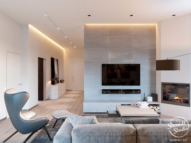 lighting design Modern Open Plan Living Room with Stunning Lighting Designs in Minsk Modern Open Living Room with Stunning Lighting Designs in Minsk 4 1