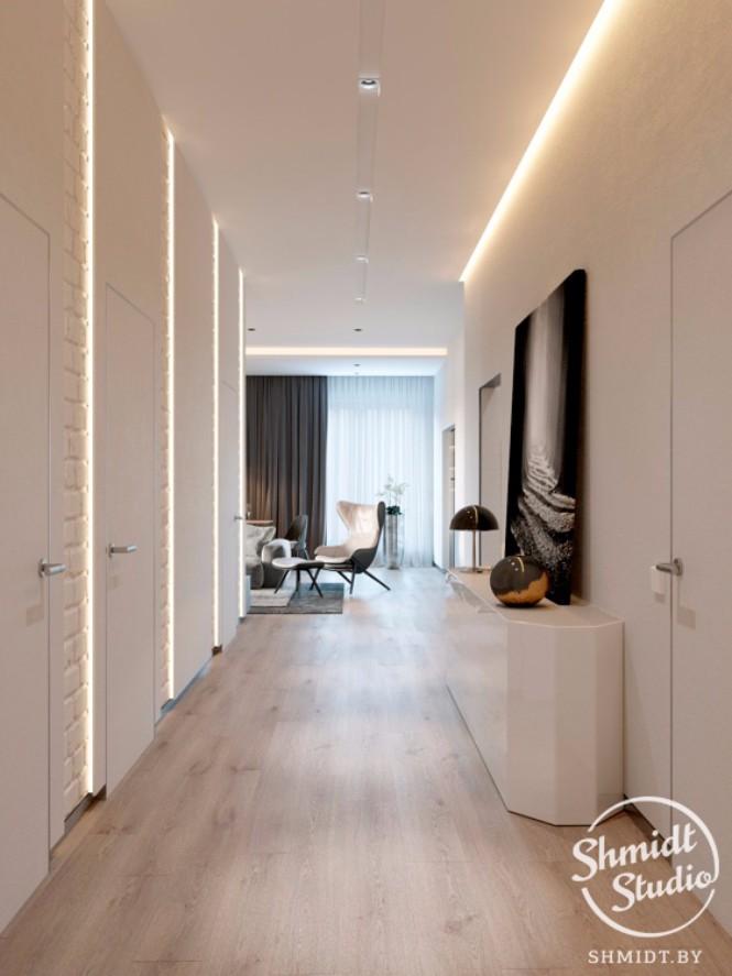 lighting design Modern Open Plan Living Room with Stunning Lighting Designs in Minsk Modern Open Living Room with Stunning Lighting Designs in Minsk 8 1