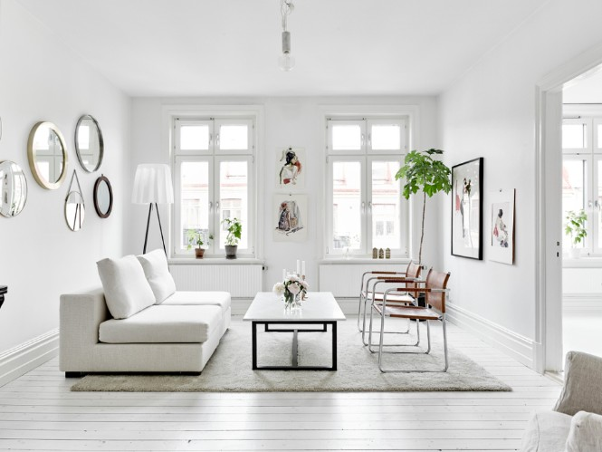 Swedish Apartment Shining with Floor Lamps scandinavian floor lamp Swedish Apartment Shining with Scandinavian Floor Lamps Swedish Apartment Shining with Scandinavian Floor Lamps 3