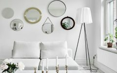 Swedish Apartment Shining with Scandinavian Floor Lamps feat