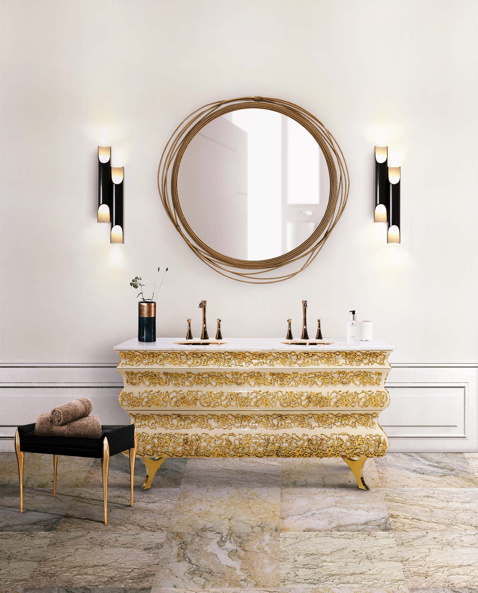Fall in Love with These Lighting Designs for Your Luxury Bathroom (7) lighting design Fall in Love with These Lighting Designs for Your Luxury Bathroom Fall in Love with These Lighting Designs for Your Luxury Bathroom 7