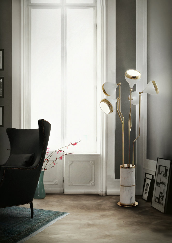 Golden Floor Lamps to Elevate Your Lighting Design This Spring (10) lighting design Golden Floor Lamps to Elevate Your Lighting Design This Spring Golden Floor Lamps to Elevate Your Lighting Design This Spring 10