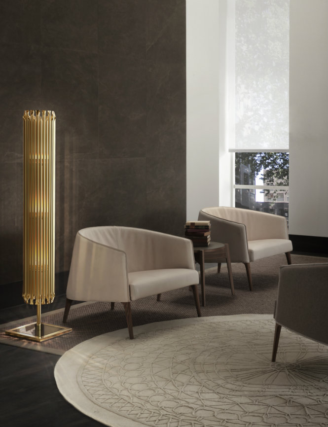 Golden Floor Lamps to Elevate Your Lighting Design This Spring (5) lighting design Golden Floor Lamps to Elevate Your Lighting Design This Spring Golden Floor Lamps to Elevate Your Lighting Design This Spring 5