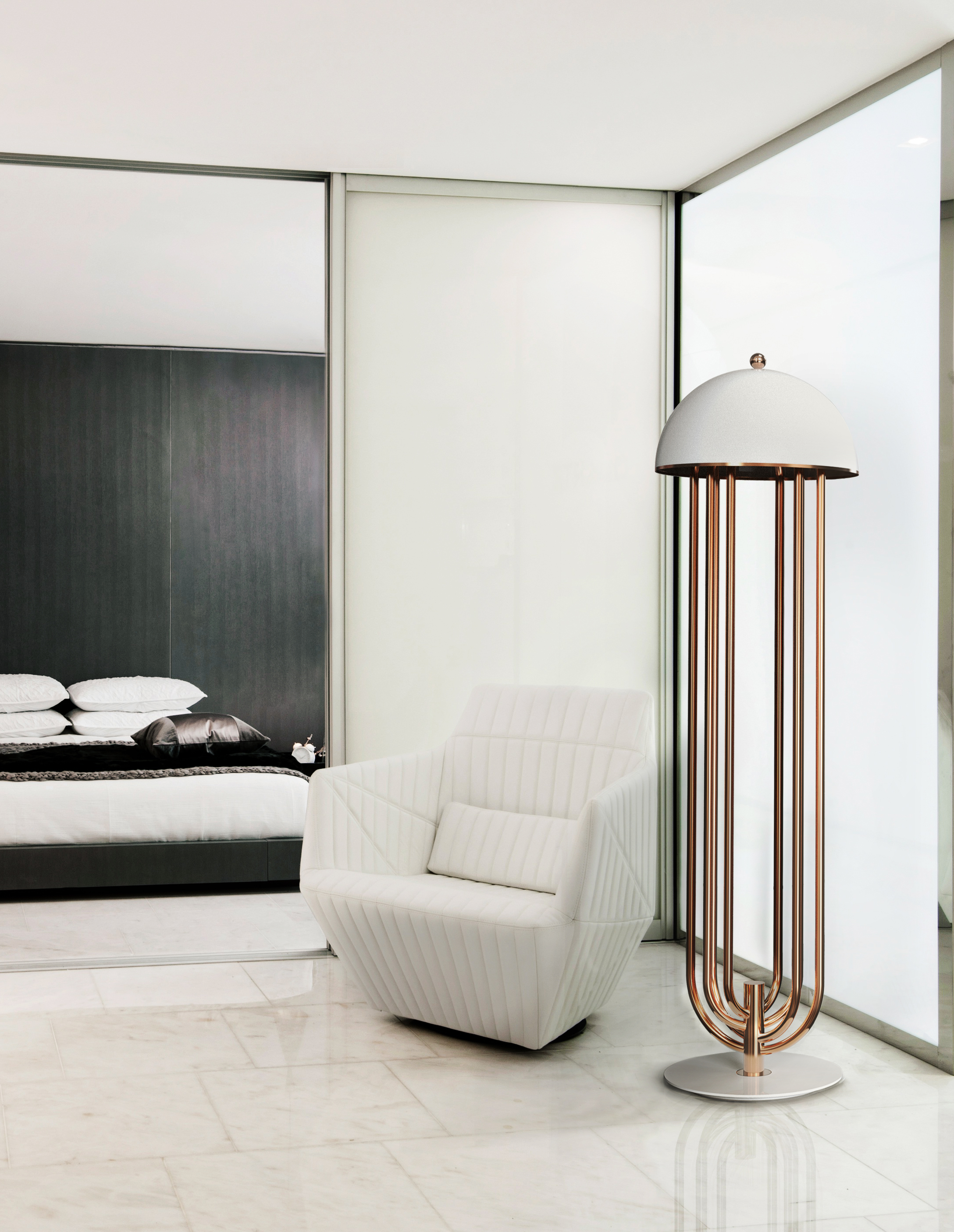 Golden Floor Lamps to Elevate Your Lighting Design This Spring (7) lighting design Golden Floor Lamps to Elevate Your Lighting Design This Spring Golden Floor Lamps to Elevate Your Lighting Design This Spring 7