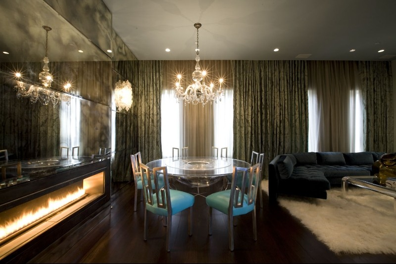 Lower East Side Triplex Penthouse Shines with Eclectic Lighting Designs 4 lighting design Lower East Side Triplex Penthouse Shines with Eclectic Lighting Designs Lower East Side Triplex Penthouse Shines with Eclectic Lighting Designs