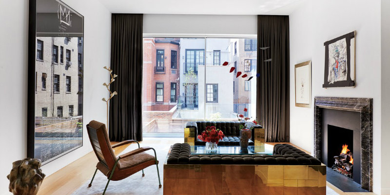 Manhattan House Filled with Mid-Century Lighting Designs feat