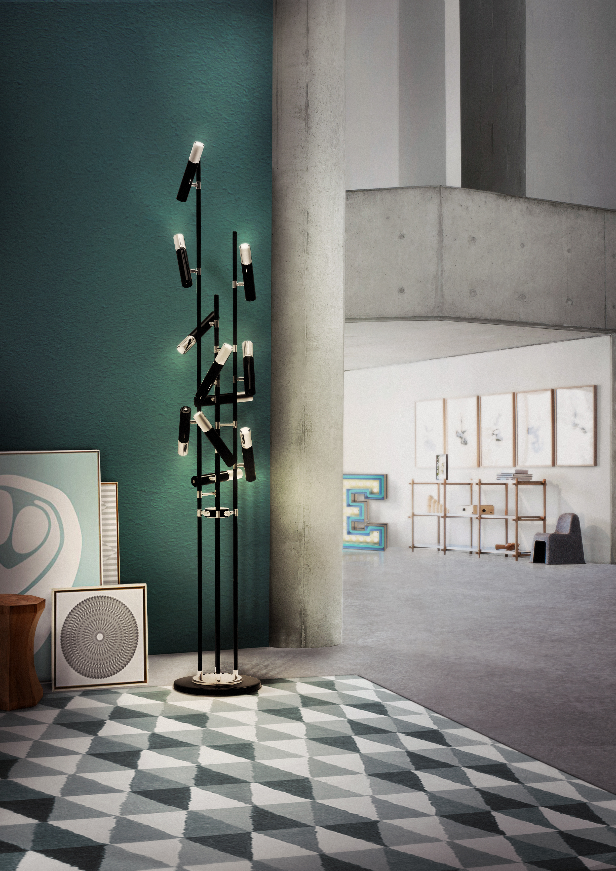 Perfect Modern Floor Lamps for a Modern and Stylish Home Design (1) modern floor lamps Perfect Modern Floor Lamps for a Stylish Home Design Perfect Modern Floor Lamps for a Modern and Stylish Home Design 1