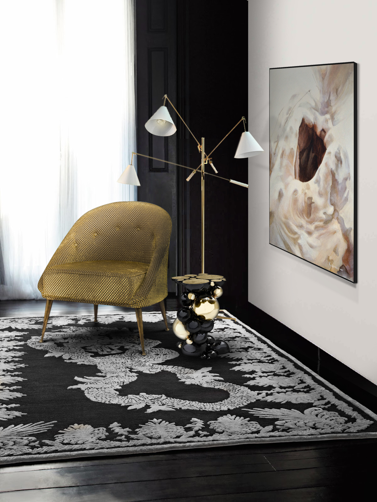 Perfect Modern Floor Lamps for a Modern and Stylish Home Design (1) modern floor lamps Perfect Modern Floor Lamps for a Stylish Home Design Perfect Modern Floor Lamps for a Modern and Stylish Home Design 7