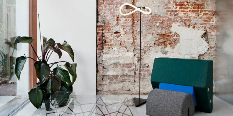 Rotterdam House with Exposed Brick Walls and Industrial Lighting 7