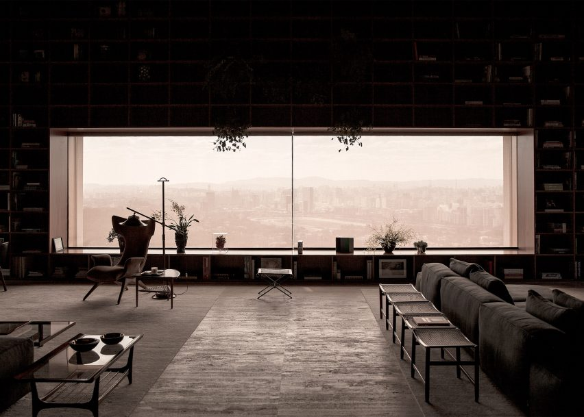 São Paulo Penthouse with Floor Lamps and Mid-Century Furniture 1