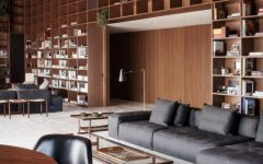 São Paulo Penthouse with Modern Floor Lamps and Mid-Century Furniture FEAT