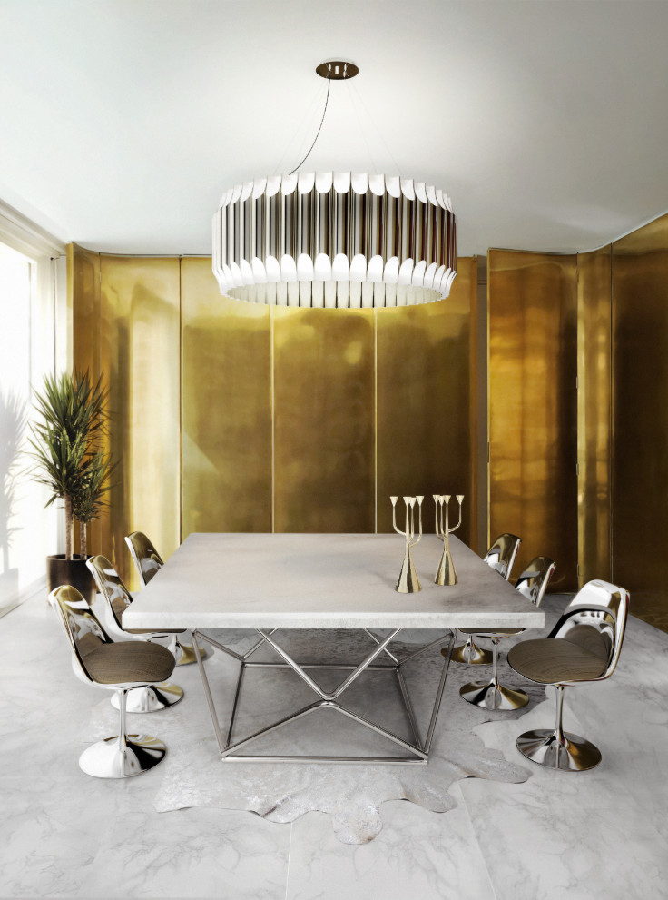 Stunning Lighting Designs for Your Dining Room Decor 1 lighting design Stunning Lighting Designs for Your Dining Room Decor Stunning Lighting Designs for Your Dining Room Decor 4