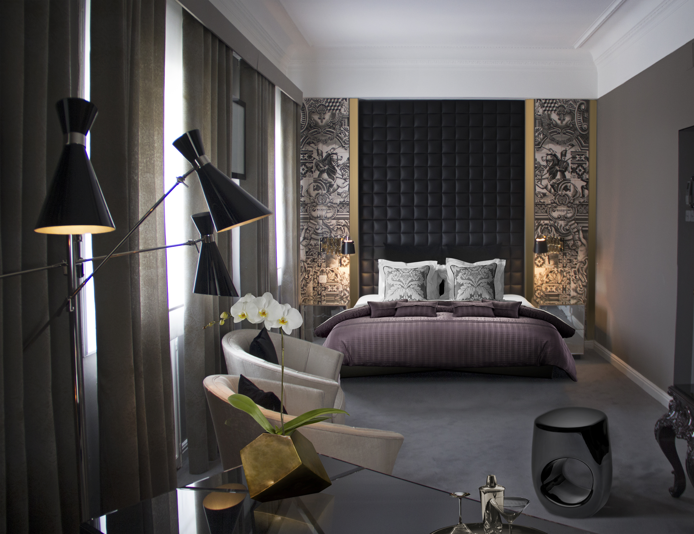 Stunning Lighting Designs to Inspire Your Bedroom Decor (1) lighting design Stunning Lighting Designs to Inspire Your Bedroom Decor Stunning Lighting Designs to Inspire Your Bedroom Decor 7