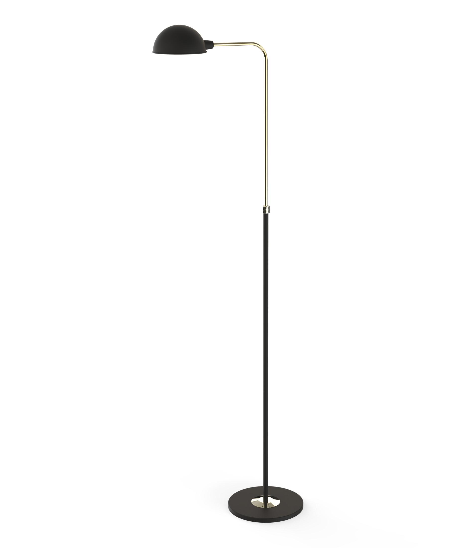 mid-century floor lamp Mid-Century Floor Lamps Brighten Up Open Plan Living Room herbie floor detail 02 HR 1