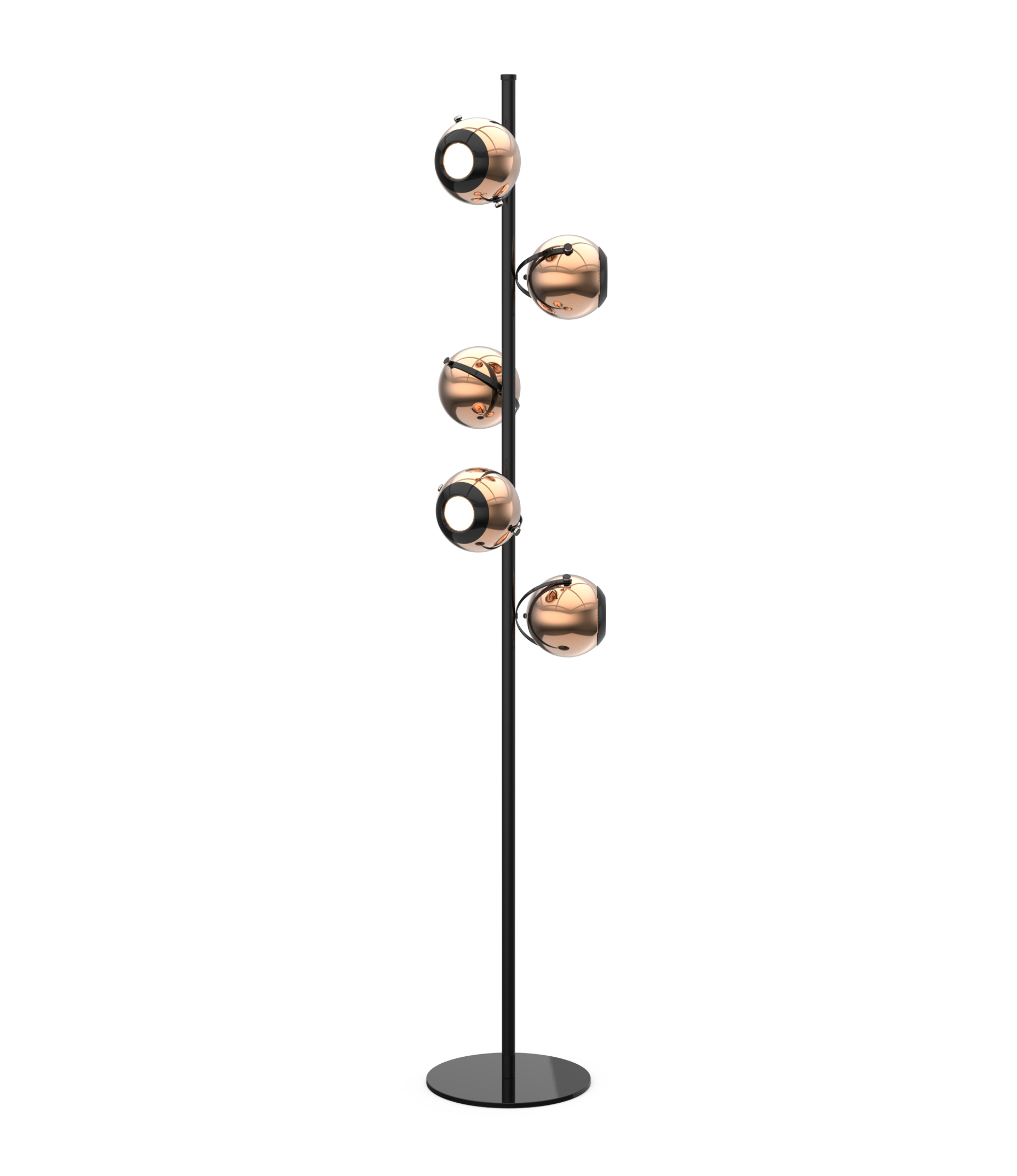 shade with lamps contemporary torchiere home lamp bright marble floor depot extremely antique brass base