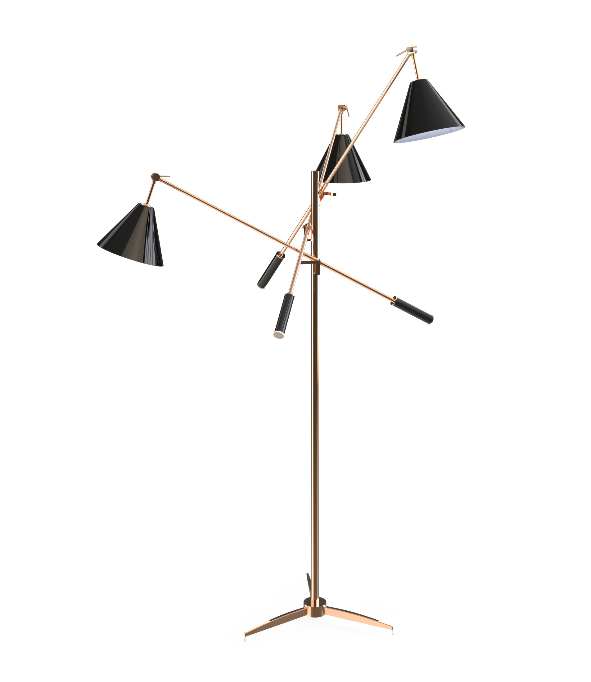 What S Hot On Pinterest Mid Century Table Lamps For Your Loft: Stunning Modern Floor Lamps For Your Industrial Design
