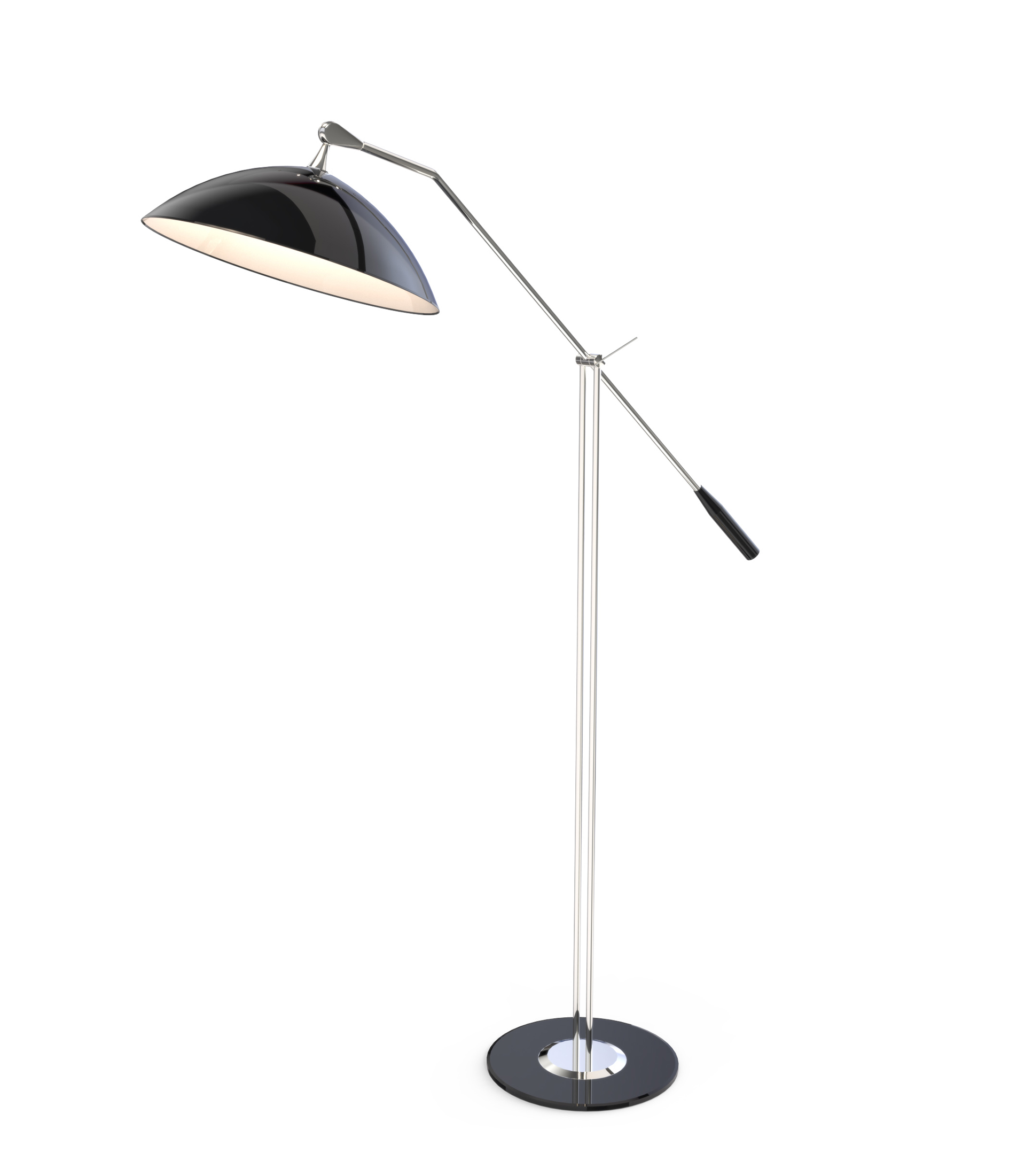 bk lamp lamps blu image dot note black modern with previous floor table
