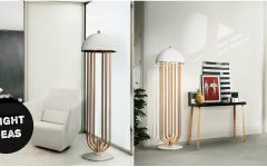 Bright Ideas Make a Style Statement with This Modern Floor Lamp FEAT