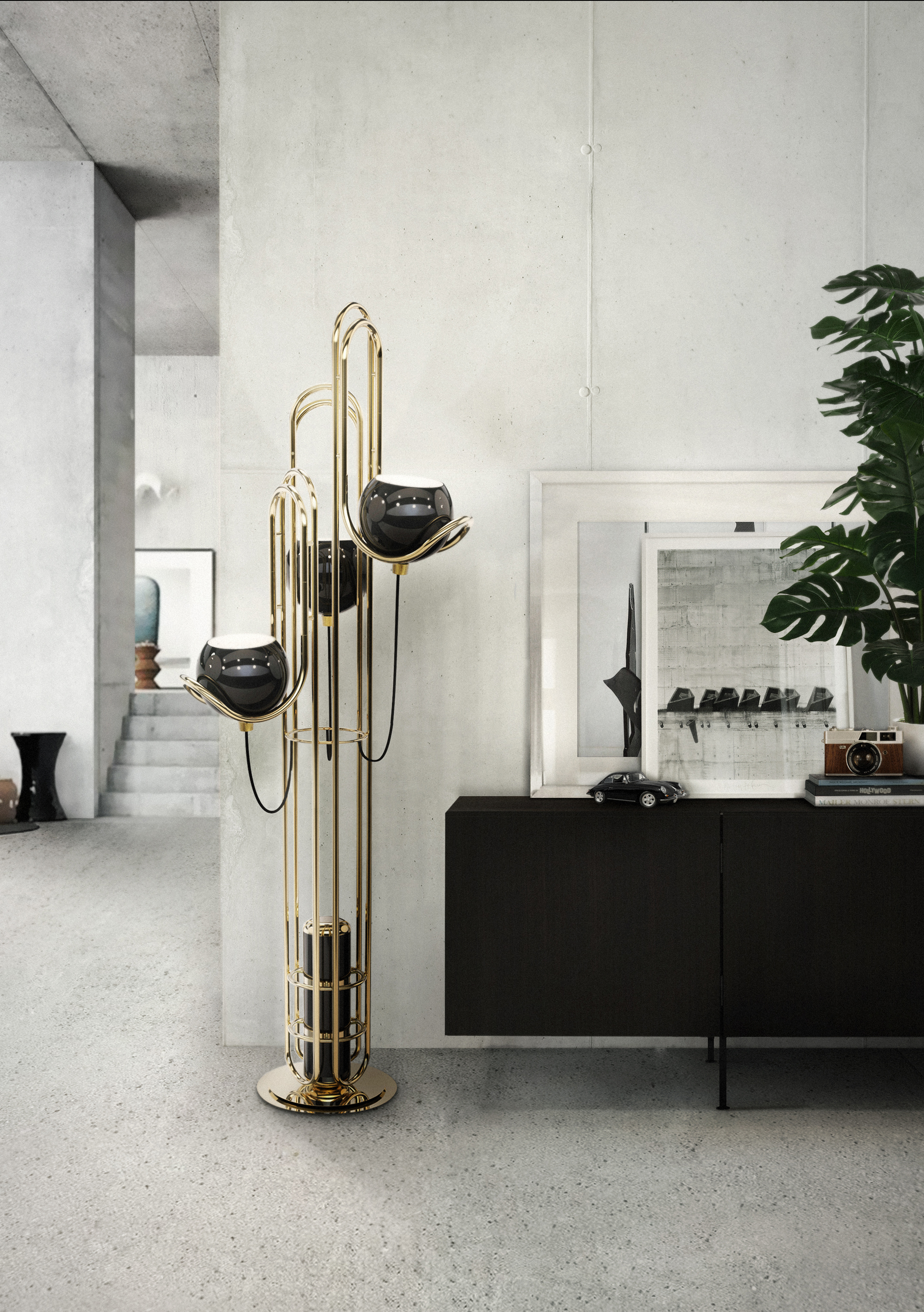 Bright Ideas Modern Floor Lamp Inspired in The Golden Years of Space 2 modern floor lamp Bright Ideas: Modern Floor Lamp Inspired in The Golden Years of Space Bright Ideas Modern Floor Lamp Inspired in The Golden Years of Space 2