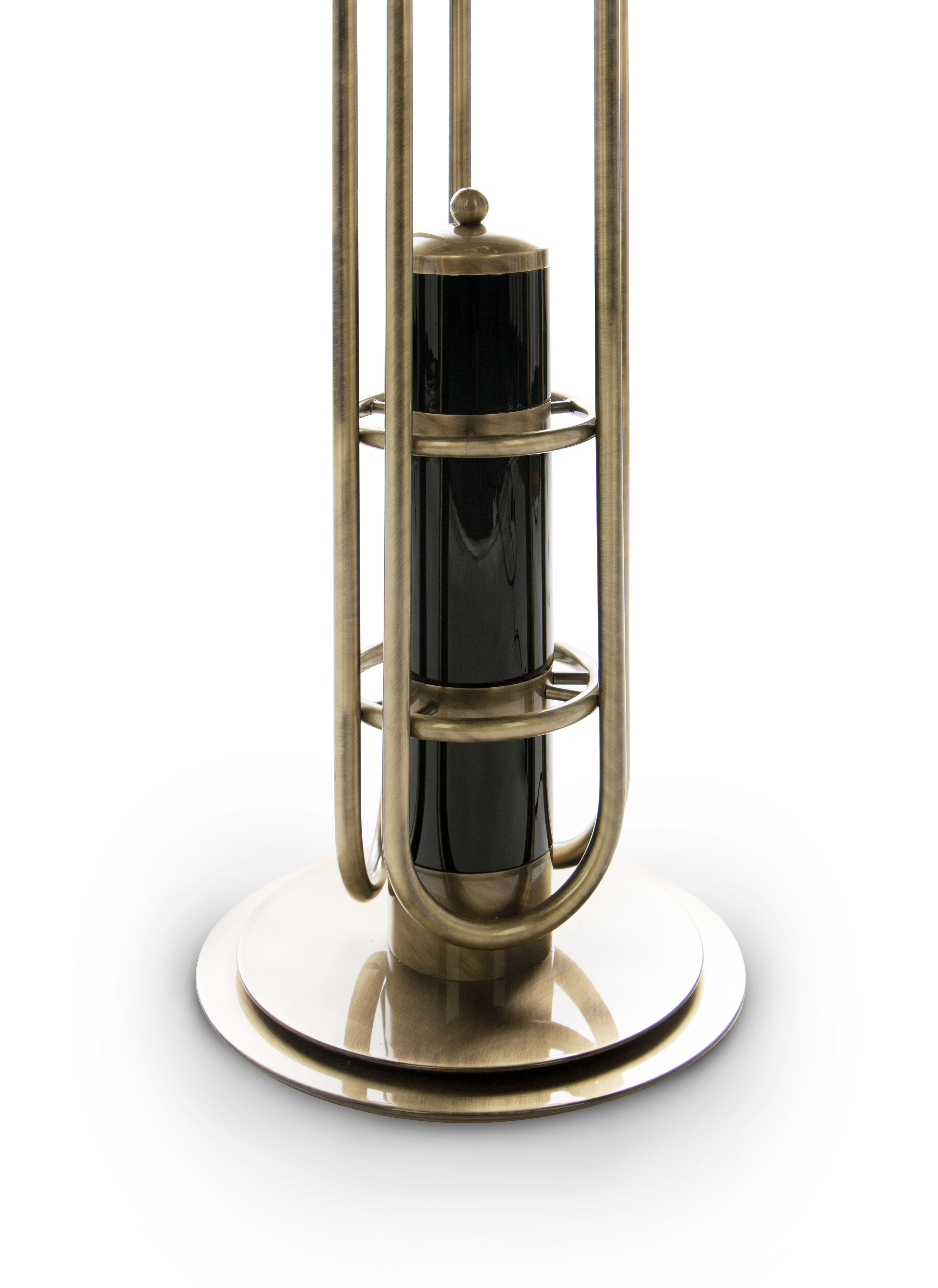 Bright Ideas Modern Floor Lamp Inspired in The Golden Years of Space 7