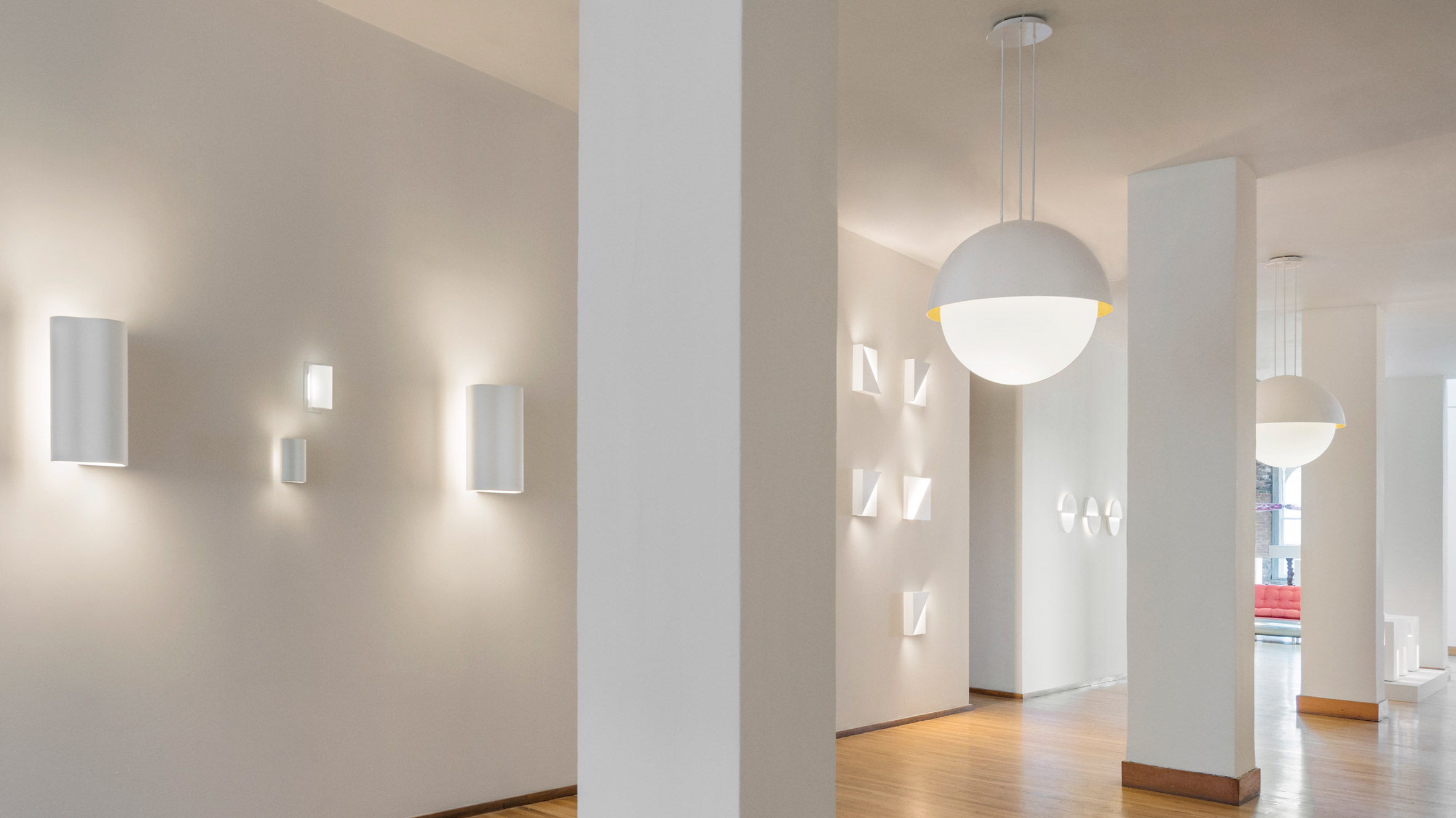 Fall in Love with Richard Meier's Minimal Lighting Collection 1 lighting collection Fall in Love with Richard Meier's Minimal Lighting Collection Fall in Love with Richard Meiers Minimal Lighting Collection 1