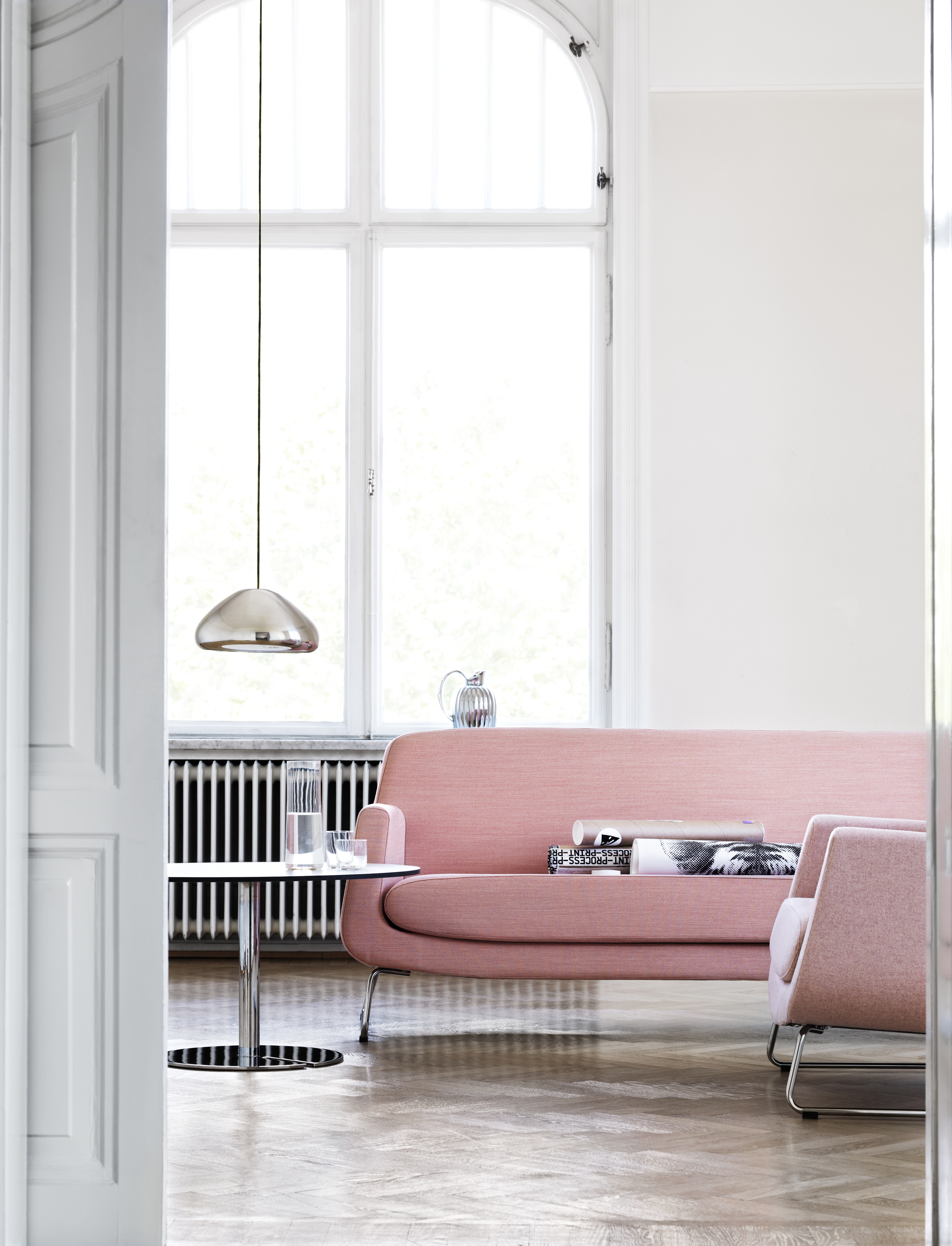 Mood Board Best Ways to Use Pale Pink in Your Home Decor 1