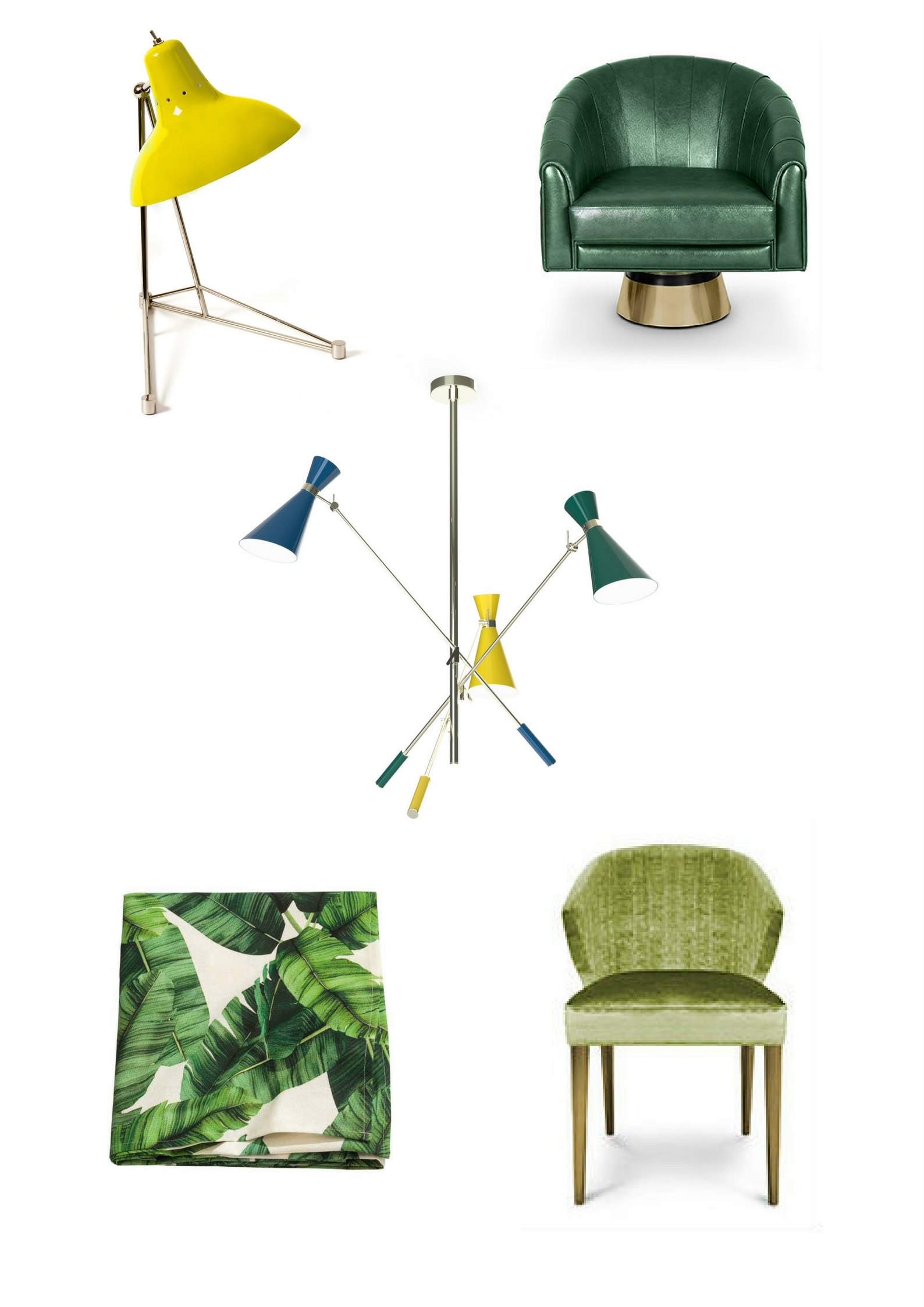 Mood Board Why You Should Use Greenery This Summer 7 greenery Mood Board: Why You Should Use Greenery This Summer Mood Board Greenery